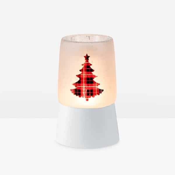 Pine for Plaid - Mini Scentsy Warmer (Table Top)